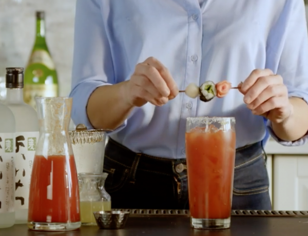 Bloody Mary – The Perfect Savory Sake Cocktail